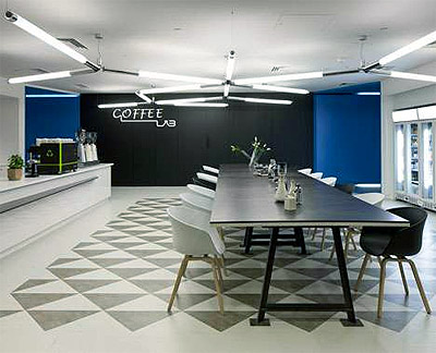 google office design in london - commercial interior design news