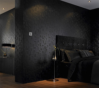 wallpaper selection for walls textured dark