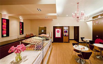 Cupcakes shop interior design