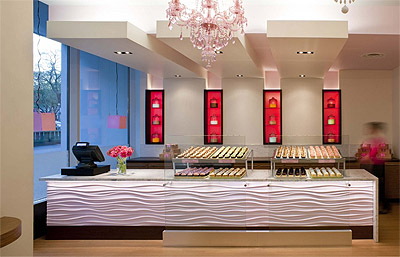 Attractive Cupcakes Shop Interior Design