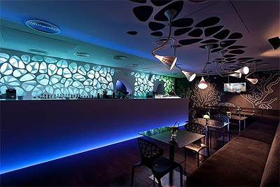 Sea world inspired restaurant design commercial interior for Ocean themed interior design