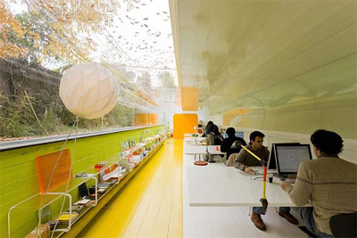 Nature Inspired Architects Office Design Commercial Interior News