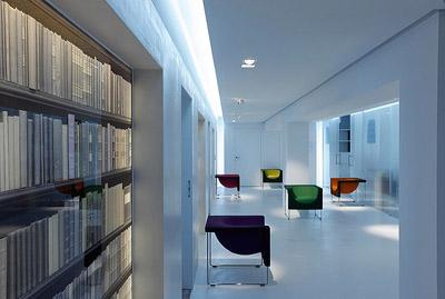 Notary office interior design