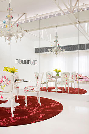 Office design girly style