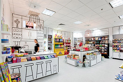 Creative Candy Store Interior Design Commercial Interior Design