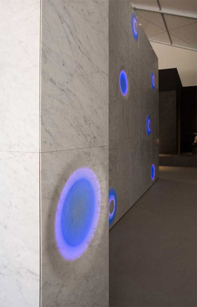Futuristic Lighting System Bolla from Italy