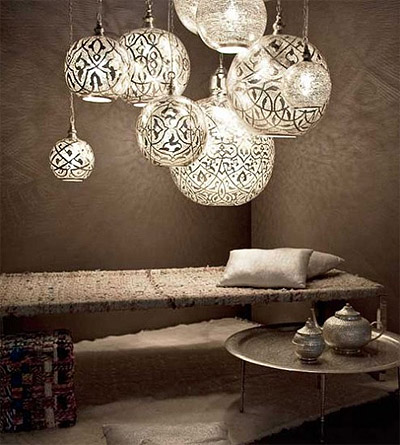 Traditional Egyptian Lighting from Zenza Commercial Interior