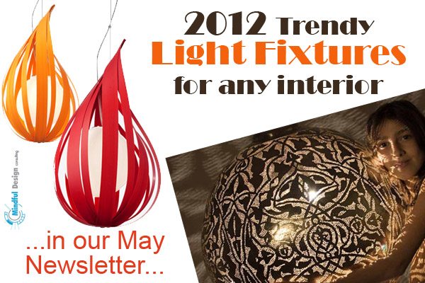 Trendy light fixtures 2012