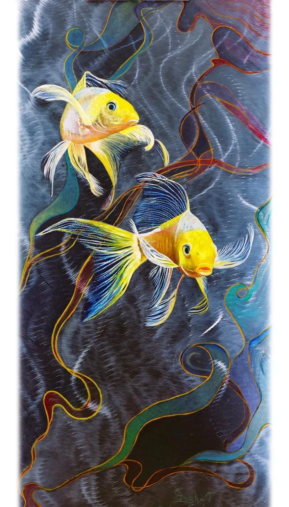 Art on Metal Fish