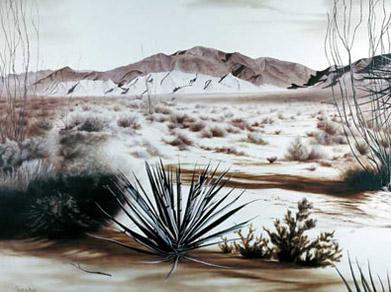 Landscape art for modern interior