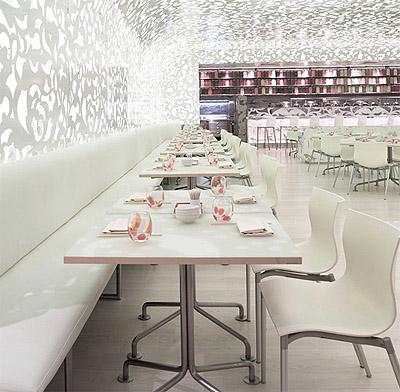 Dreamy Noodle Restaurant Interior Design In Las Vegas