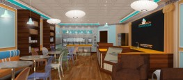 Yogurt Shop Design