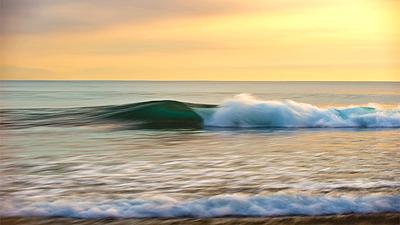 ocean art sunset perfection