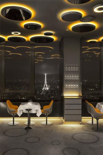 restaurant inteior design in paris