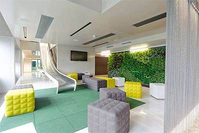 green office in viena - microsoft