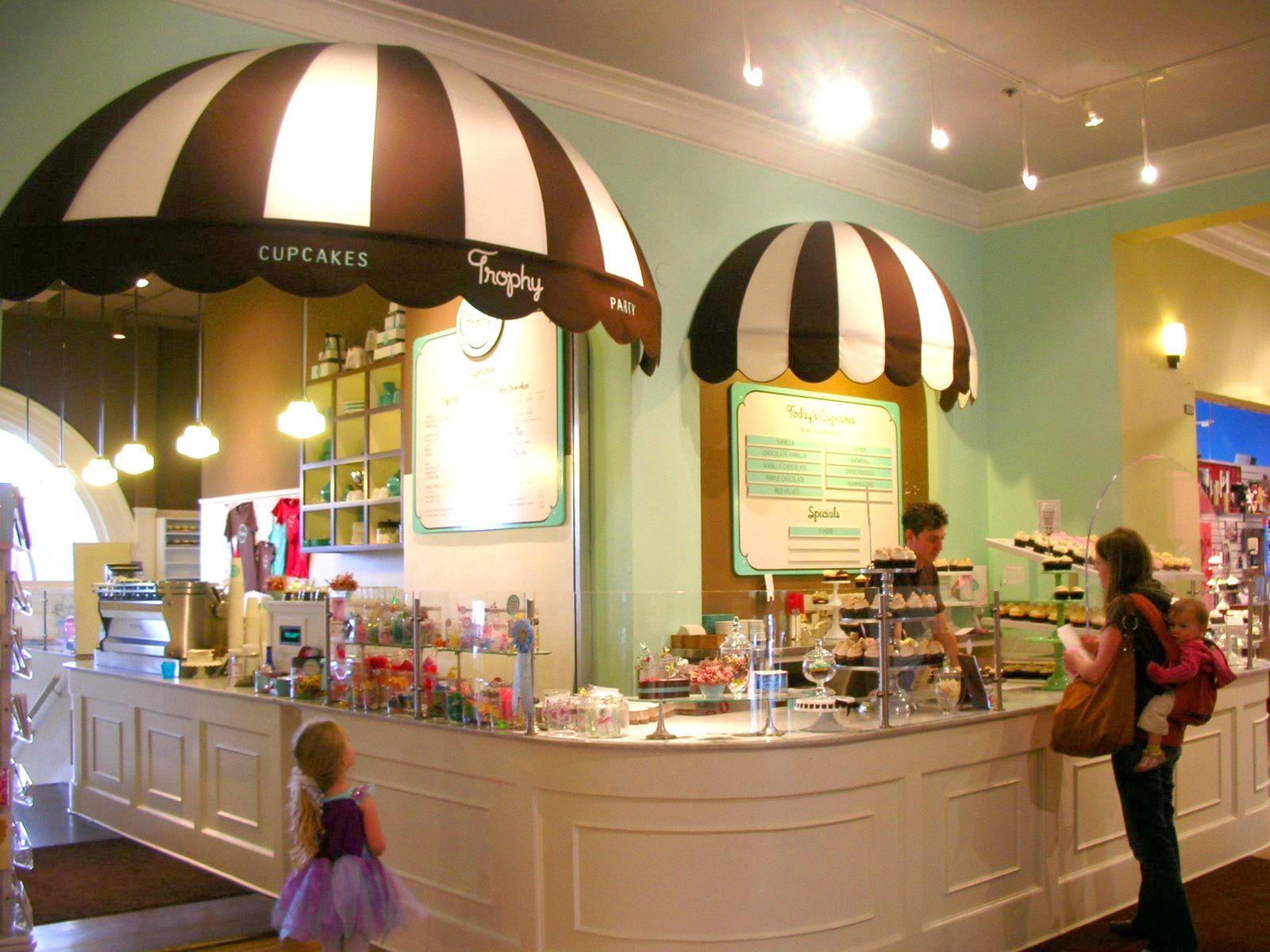 Cupcakes Store interior design