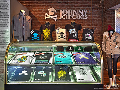 cupcake store interio design johny's