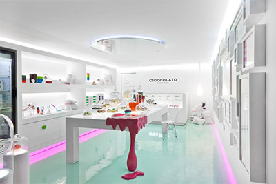 Marvelous Cupcakes Store Interior Design Ideas Cioccolato 2