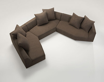 lobby furnture mitosi sectional