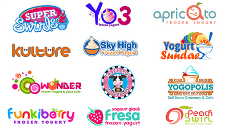 yogurt brand design