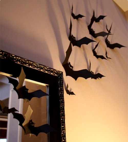 fast decor for halloween