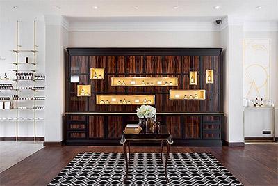 cosmetics store boutique interior design