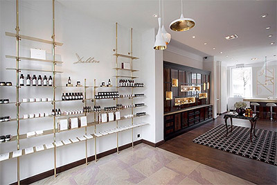 Upscale Cosmetic Boutique Design In Brussels Commercial Interior