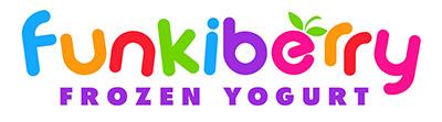 Funkiberry Frozen Yogurt Shop Logo Design