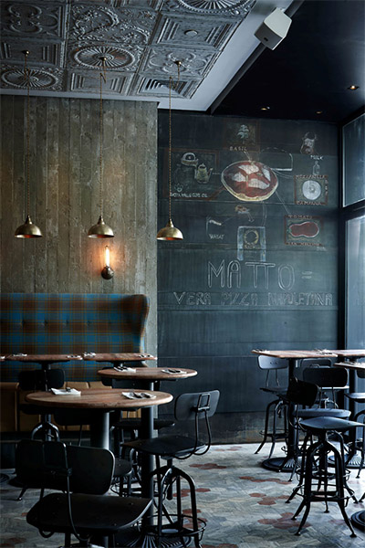 restaurant pizza interior design