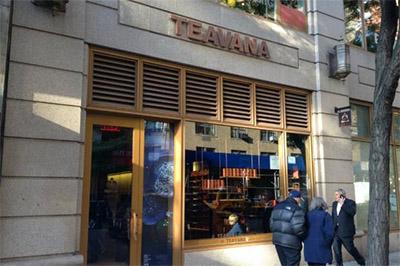 tea store signage design