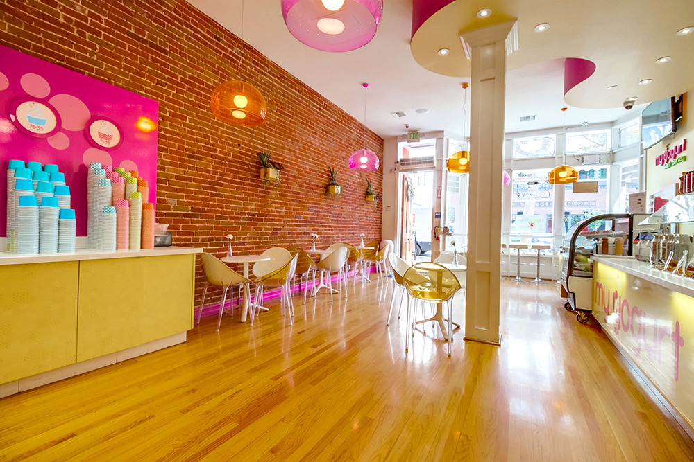 Yogurt store design