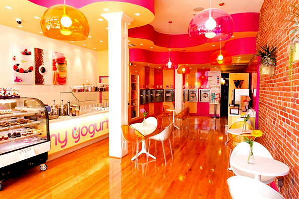 my yogurt store design