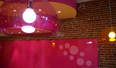my yogurt store interior design
