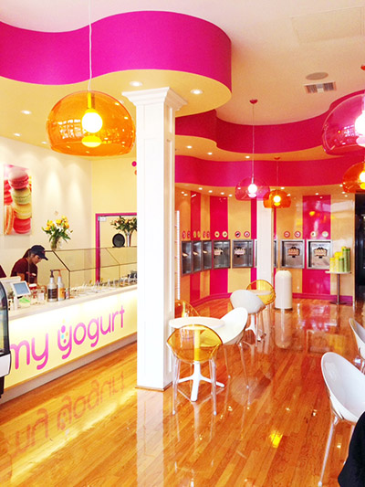 My yogurt frozen yogurt store downtown san diego ca for Interior design 92101