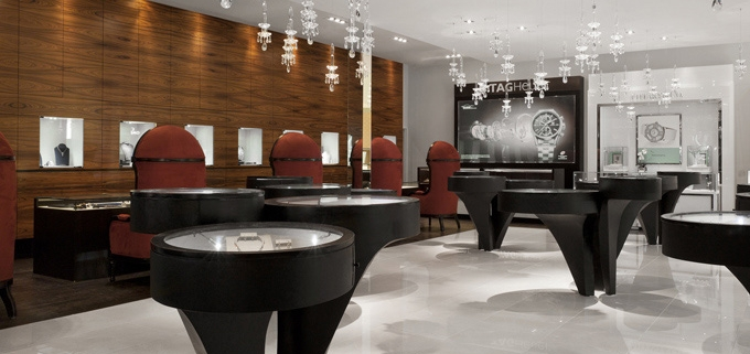 Sophisticated Jewelry Store Design