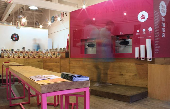 Yogism Frozen Yogurt Shop Commercial Interior Design News