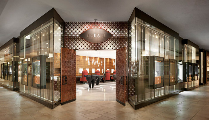 Sophisticated Jewelery Store Design in Toronto Commercial Interior
