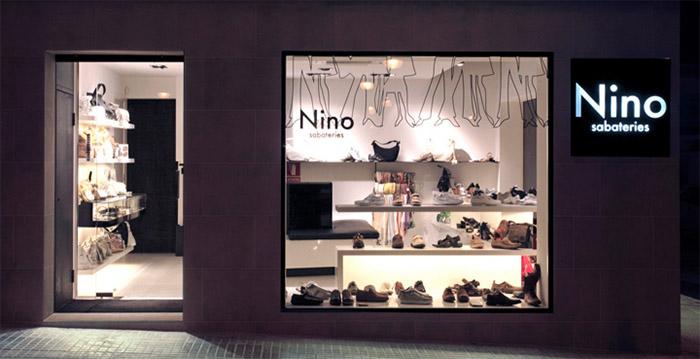 shoe store front design