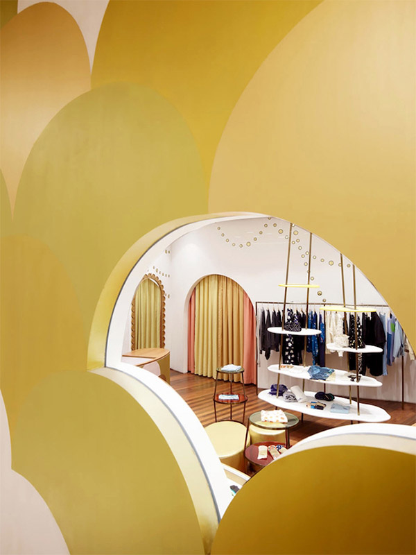 Boutique store branding in shaghai commercial interior for Boutique design consultancy