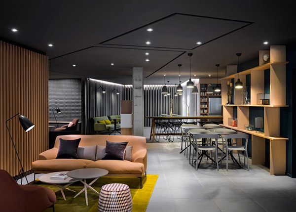 Space Saving Hotel Design Commercial Interior