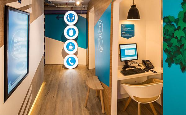 bank interior design