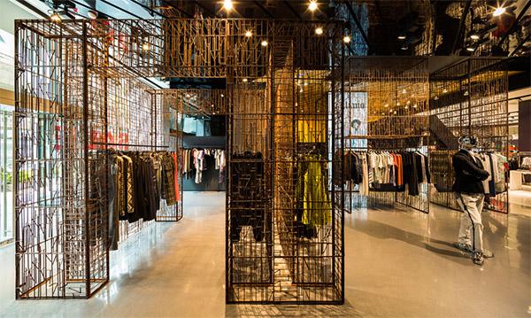 Shop In Store Design Concept Commercial Interior