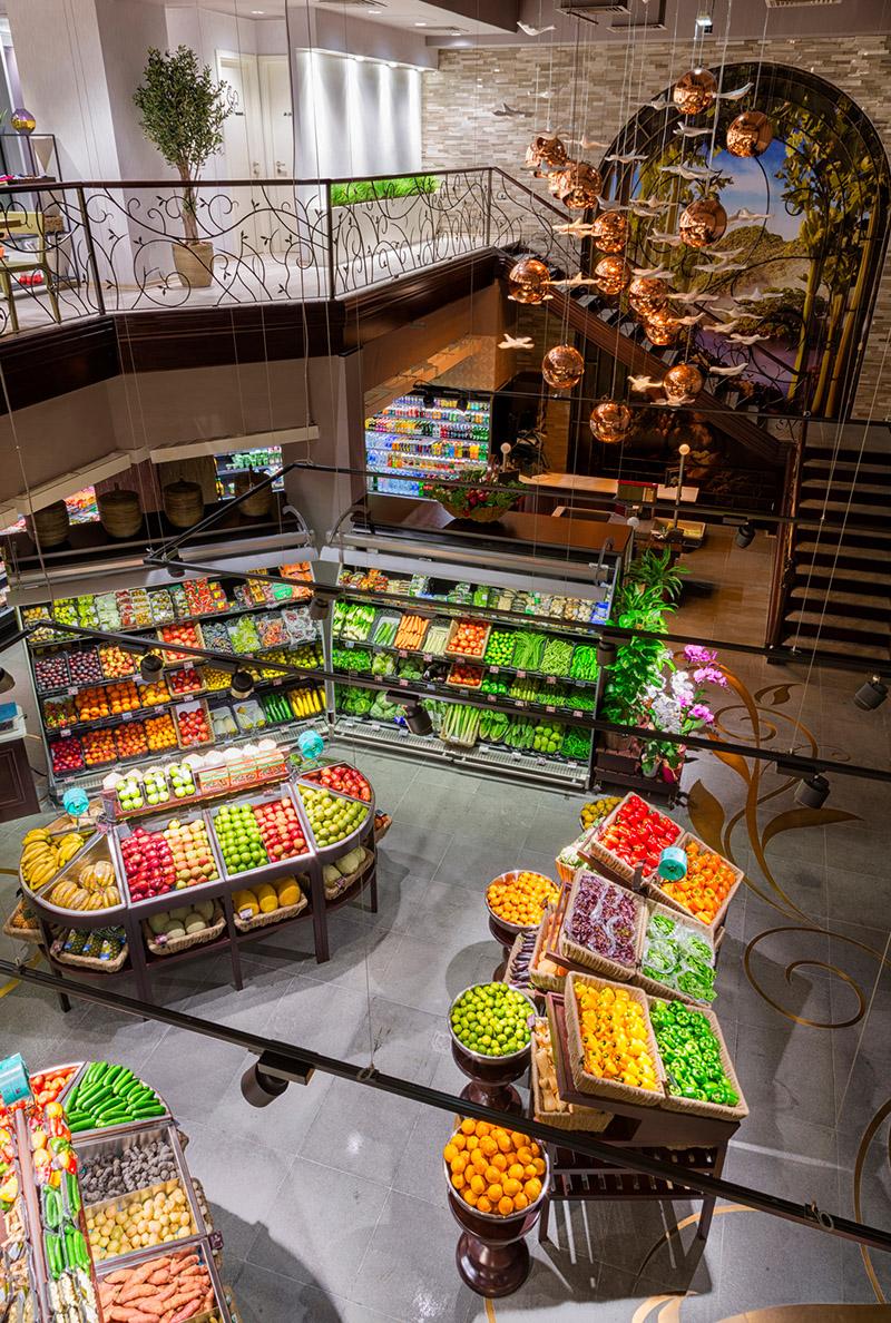 Gourmet Food Emporium Supermarket Interior Design – Commercial ...