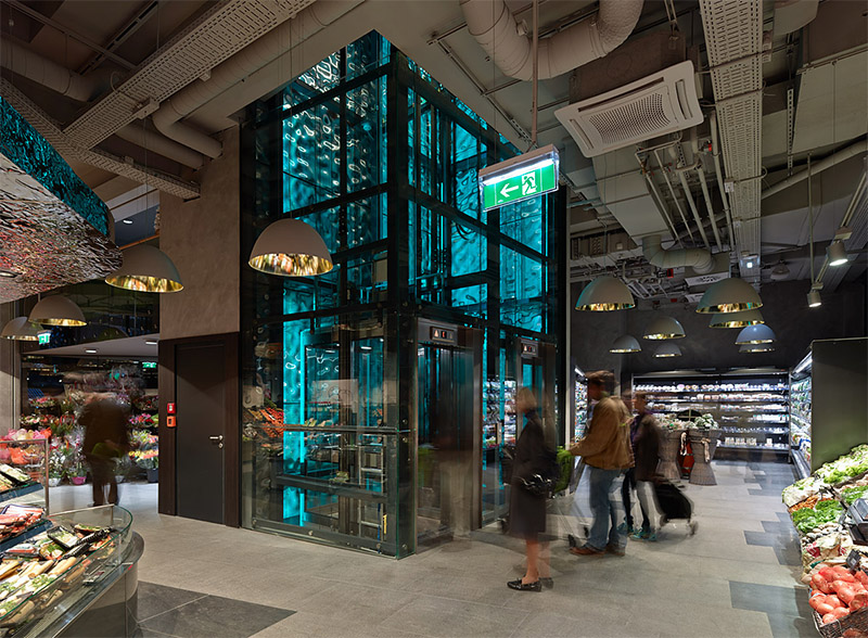 supermarket interior design