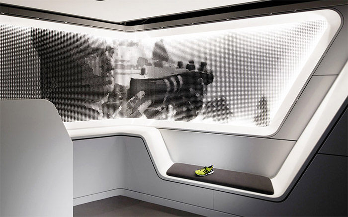 Adidas Office Interior Design In Japan Commercial Interior Design News