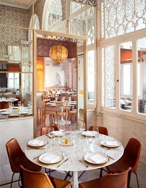 Mediterranean Restaurants Design : Mediterranean restaurant in Beirut – Commercial Interior Design News ...