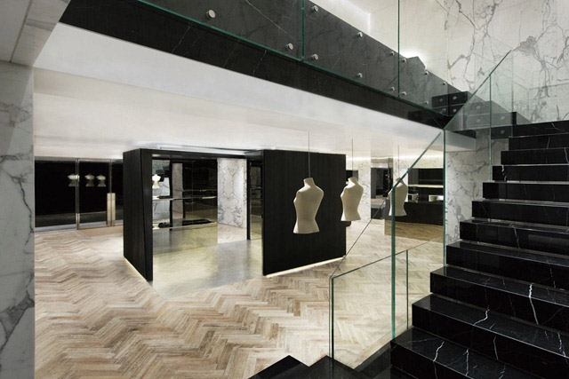 New Sophisticated Givenchy Stores In Korea and China – Commercial Interior Design News