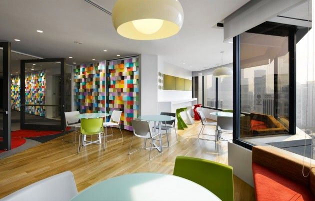 Vibrant Sherwin Williams Office Interior Design In