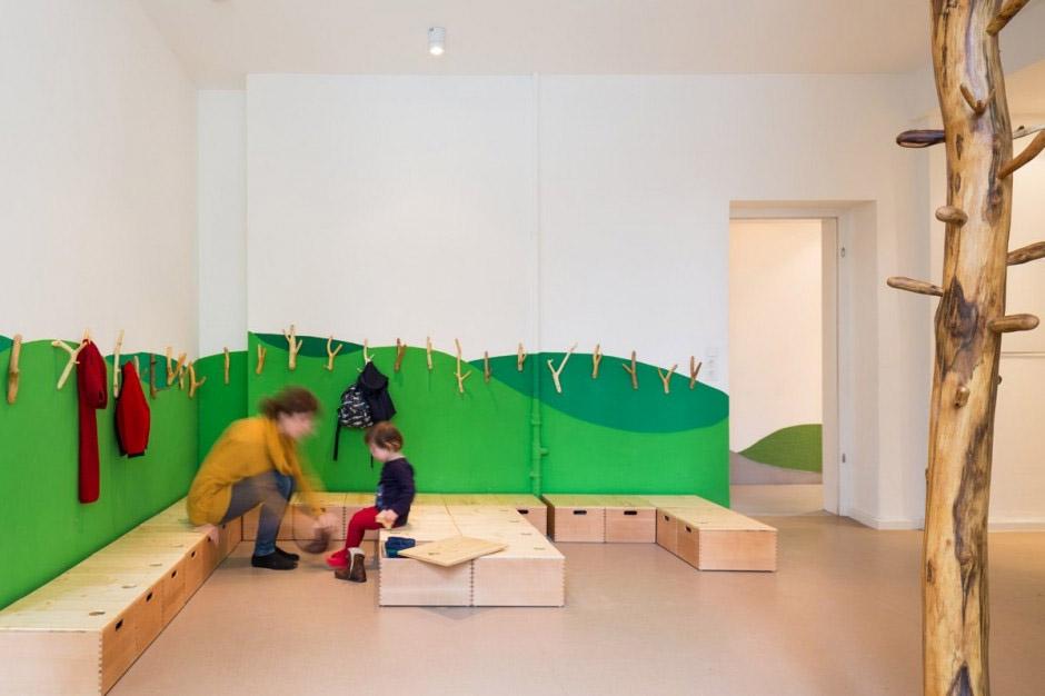 Inspiring School Interior Design In Germany Commercial Interior Design News
