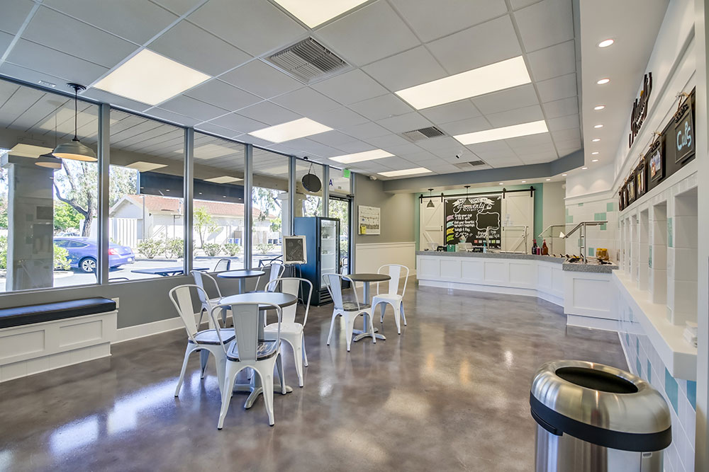Heavenly-Frozen-Yogurt-Design-Concrete-Floor-Finish